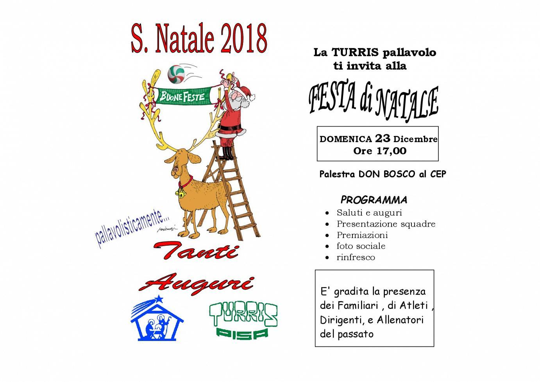 NATALE 2018 biglietto auguri